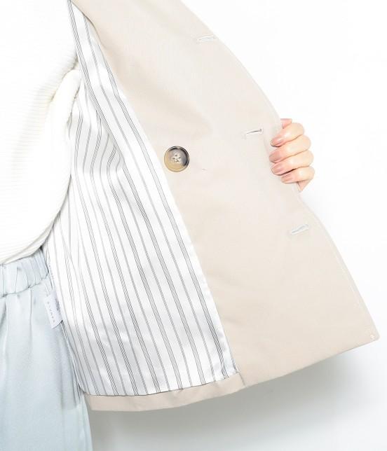 ロペピクニック   【WEB限定34,42サイズ,花粉ガード+撥水加工】ショートトレンチコート - 6