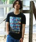 JUN SELECT - ジュンセレクト | 【RYUJI KAMIYAMA】コラボアーカイブスプレーTシャツ | ブラック