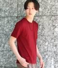 JUNRed - ジュンレッド | オータムポンチ半袖Tシャツ | ワイン