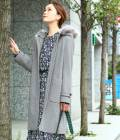ViS - ビス | 【予約】【蓄熱+静電気防止加工】【3WAY】ピュアウールジップコート | グレー
