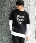 JUN SELECT - ジュンセレクト | 【先行予約】【Ready Steady GO!÷JUNRed】ミラーロゴTシャツ | ブラック