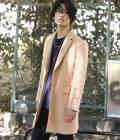 JUNRed - ジュンレッド | 【先行予約】メルトン8ポケットチェスターコート | キャメル