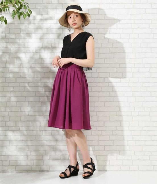 ロペピクニック | 【TIME SALE】【HAPPY PRICE】サップギャザースカート - 9