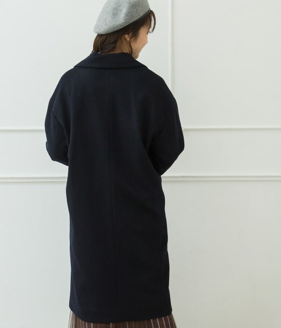 ビス | 【蓄熱+静電気防止加工】【WOOL100%】チェスターコート - 2