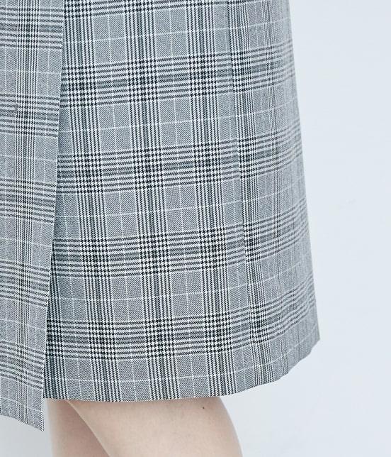 ロペピクニック | ウーリッシュフラノチェックタイトスカート - 6