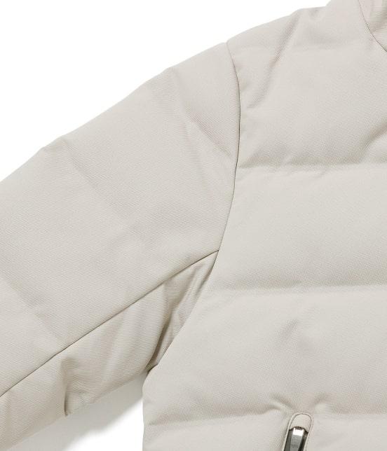ジュンレッド | 【WEARISTA JUN 着用アイテム】【Less:3】サーモコンプレッションボンディングホワイトグースダウンジャケット - 2
