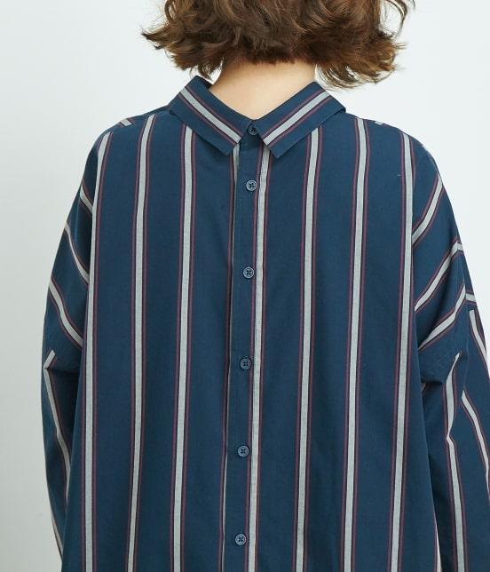 ロペピクニック | 【2WAY】バックオープンシャツワンピース - 4