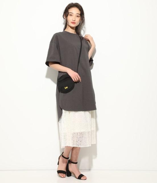 ビス   【WEB限定】半袖スリット入りTシャツ - 8