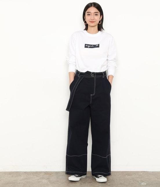 アダム エ ロペ ファム | 【agnes b. pour ADAM ET ROPE' 】Long Sleeve T-shirts - 2
