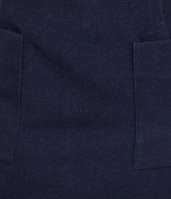 ロペピクニック | プレミアムウールメルトン台形スカート - 6