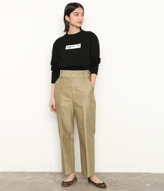アダム エ ロペ ファム | 【agnes b. pour ADAM ET ROPE' 】Long Sleeve T-shirts - 1