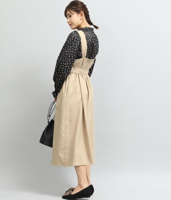 ビス   トレンチジャンパースカート - 15
