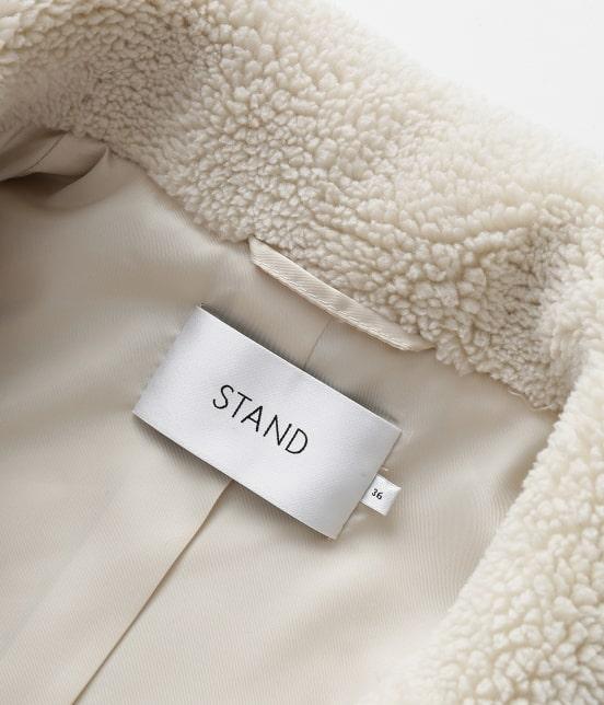 アダム エ ロペ ファム | 【STAND】Camille Teddy Faux Fur - 13