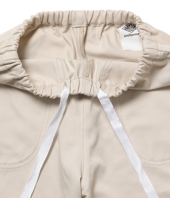 サロン アダム エ ロペ ウィメン   【DANTON uniforme】TWILL EASY PANTS - 4