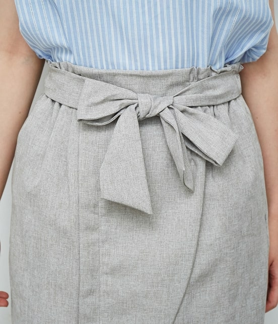ロペピクニック | 【HAPPY PRICE】麻調アイラインスカート - 3