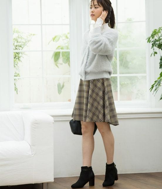 ビス | 【前後2WAY】フェザーヤーンカーディガン - 11