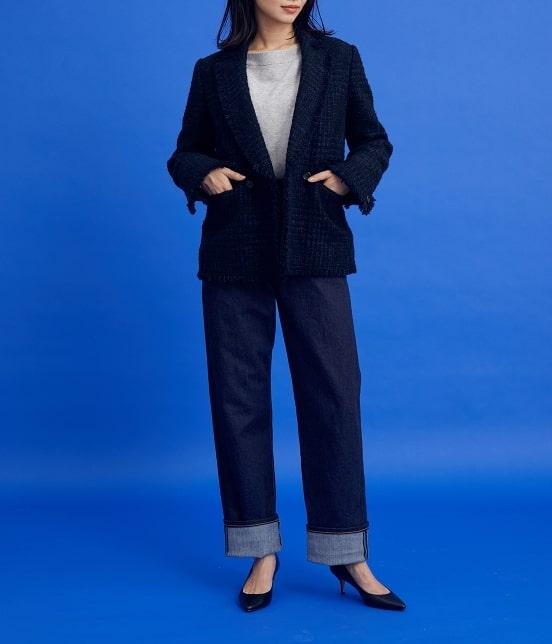 ロペ | 【ロペシスターズコレクション 辻直子監修】グレンチェックツイードジャケット - 11