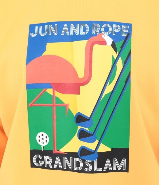 ジュン アンド ロペ | GRANDSLAMプリントプルオーバー - 6