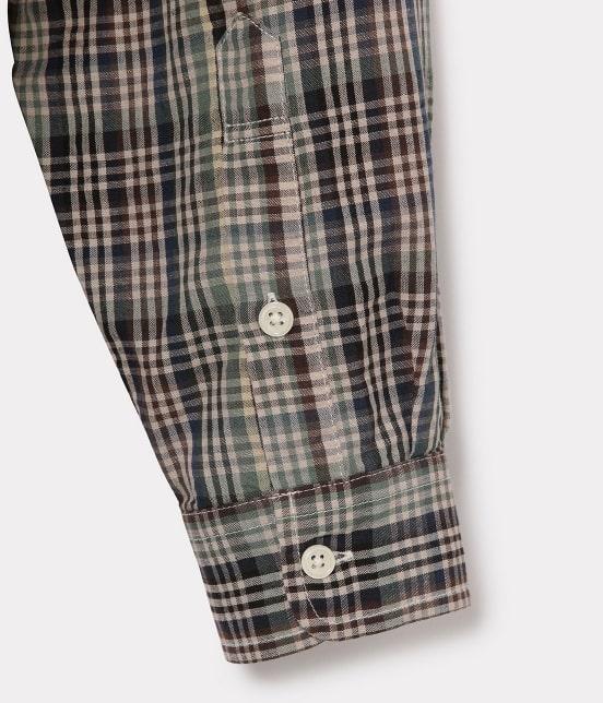アダム エ ロペ ワイルド ライフ テーラー | 【予約】【PENDLETON】別注バンドカラーシャツ - 4