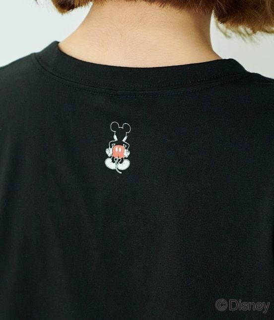 ロペピクニック | 【DISNEY(ディズニー)】 MICKEYロゴTシャツ - 4