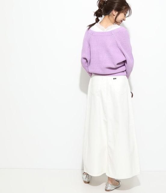 ビス   【予約】【Lee×ViS】デニムマキシスカート - 10