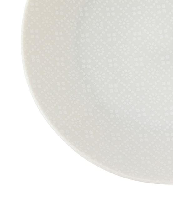 サロン アダム エ ロペ ホーム | 【丸直製陶所】白磁小紋四二皿 - 1