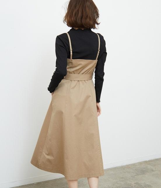 ロペピクニック | トレンチジャンパースカート - 2
