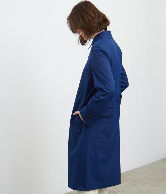 ロペピクニック   【防風透湿】ステンカラーコート - 1