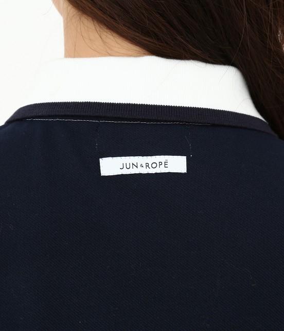 ジュン アンド ロペ   【TIME SALE】【UV CUT】【吸水速乾】【接触冷感】ミリオンアイスカラーブロックワンピース - 3