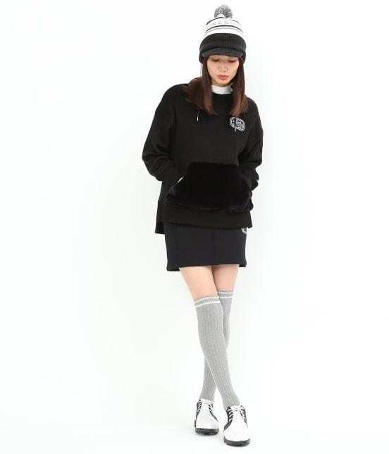 ジュン アンド ロペ | 【予約】ファーポケットフーデットプルオーバー - 13
