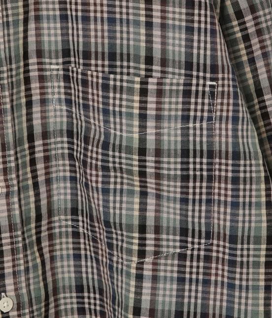 アダム エ ロペ ワイルド ライフ テーラー | 【予約】【PENDLETON】別注バンドカラーシャツ - 6