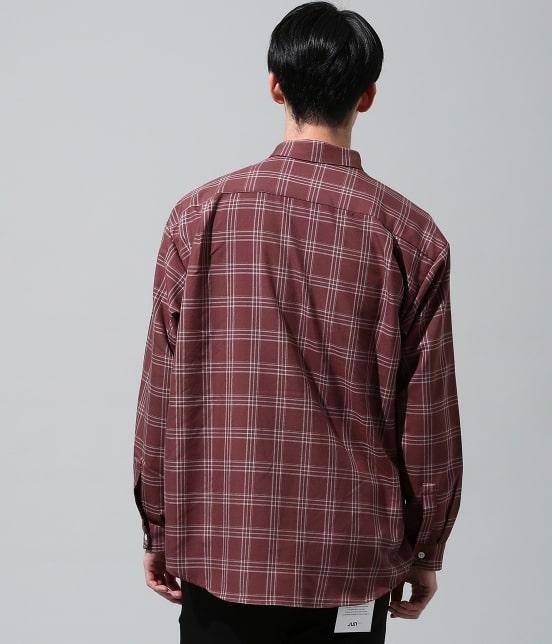 ジュンレッド | チェックリラックスシャツ - 3