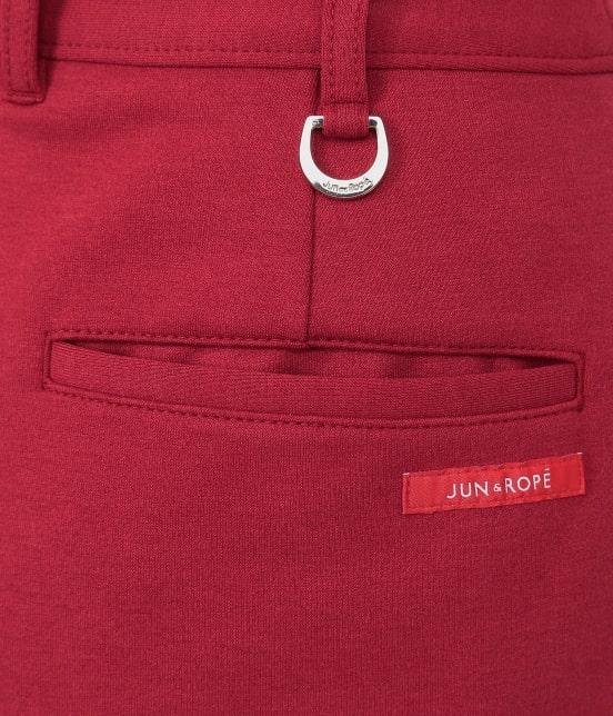 ジュン アンド ロペ | ポンチバイカラーラップスカート - 4
