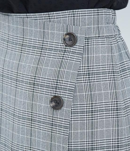 ロペピクニック | ウーリッシュフラノチェックタイトスカート - 5