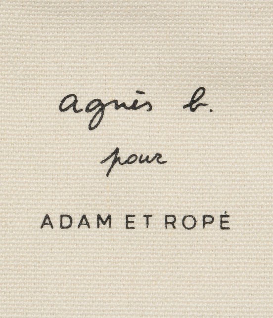 アダム エ ロペ ファム | 【agnes b. pour ADAM ET ROPE'】TOTE BAG WITH BOX LOGO - 4