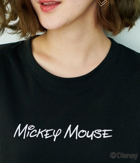 ロペピクニック | 【DISNEY(ディズニー)】 MICKEYロゴTシャツ - 3