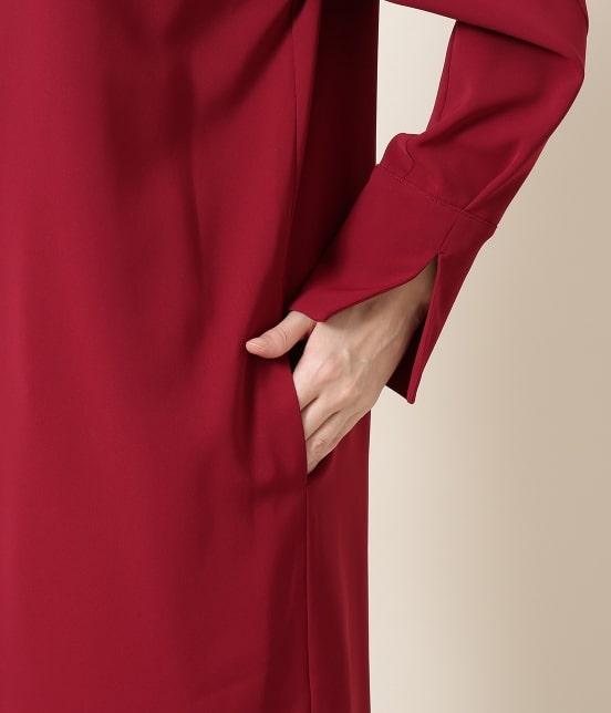 サロン アダム エ ロペ ウィメン | ドライツイル2WAYドレス - 7