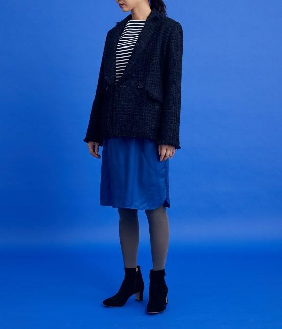 ロペ | 【ロペシスターズコレクション 辻直子監修】オーガンジープリーツスカート - 2