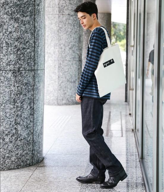 アダム エ ロペ ファム | 【agnes b. pour ADAM ET ROPE'】TOTE BAG WITH BOX LOGO - 17
