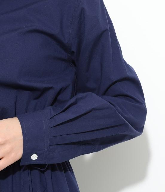 ビス | 【予約】【鎌倉シャツ×ViS】スタンドカラーワンピース - 4