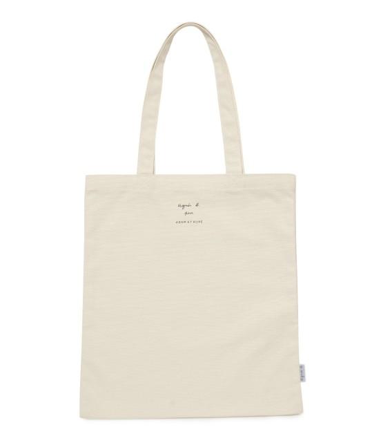 アダム エ ロペ ファム | 【agnes b. pour ADAM ET ROPE'】TOTE BAG WITH BOX LOGO - 3