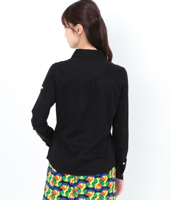 ジュン アンド ロペ   【UVCUT】【吸水速乾】【接触冷感】カットソーシャツ - 2