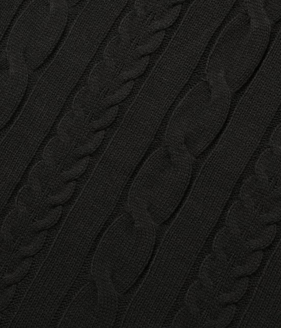 ロペピクニック | 【WEB限定カラー3色】ケーブル編みニットワンピース - 8