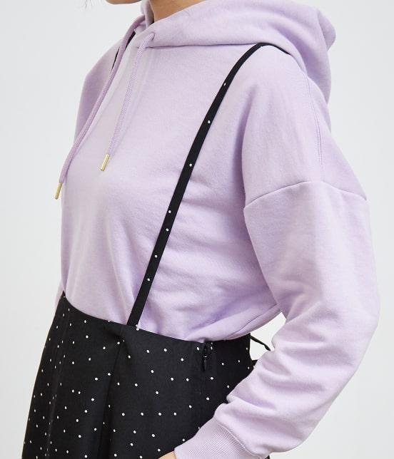 ロペピクニック   【TIME SALE!10%OFF】【予約】【WEB限定】サスペンダー付きフレアースカート - 5