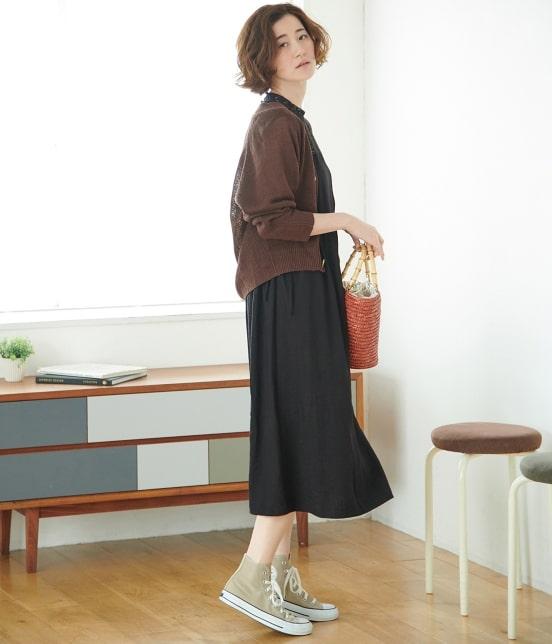ロペピクニック   【WEB限定】リネンVネックカーディガン - 12