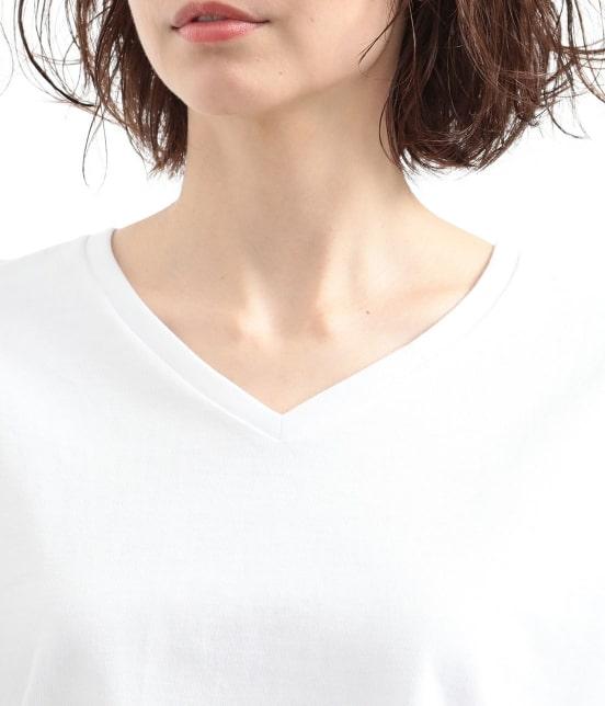 サロン アダム エ ロペ ウィメン   【2PACK】VネックT-SHIRTS(Ladies) - 6