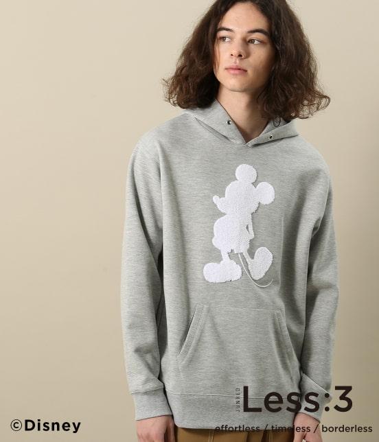 ジュンレッド   【Less:3/レスリー】サガラミッキープルパーカー - 11