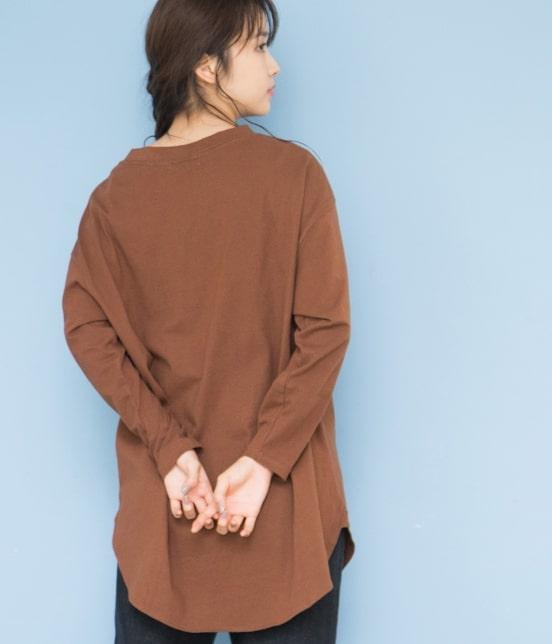 ビス | 【WEB限定】サイドスリットビッグTシャツ - 2