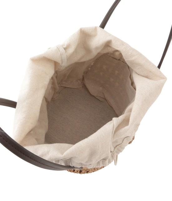 ロペピクニックパサージュ   透かしライナー巾着ペーパートートバッグ - 5