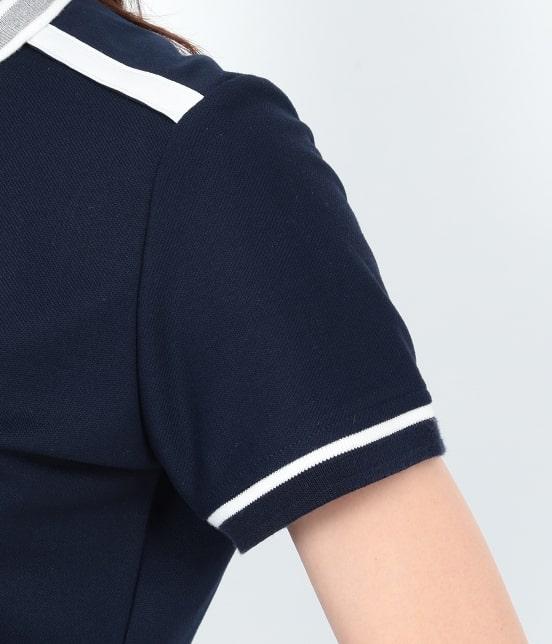 ジュン アンド ロペ | 【UVCUT】【吸水速乾】【接触冷感】ミリオンアイス半袖ポロシャツ - 5